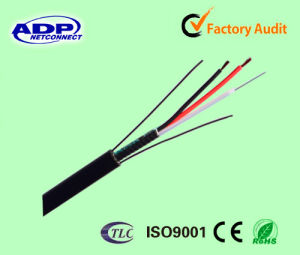 New Type Fiber Optic Cable with Copper Power Wire pictures & photos