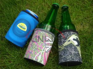 Neoprene Drink Beer Can Holder, Bottle Cooler, Bottle Koozie (BC0068) pictures & photos