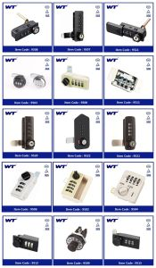 Wt High Quality Combination Lock pictures & photos