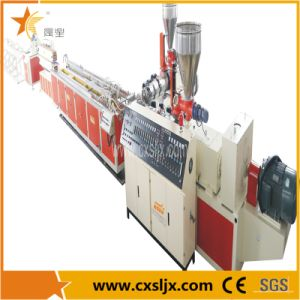 PVC Resin Pipe Sjsz Series Conical Twin Screw Plastic Extruding Machine pictures & photos