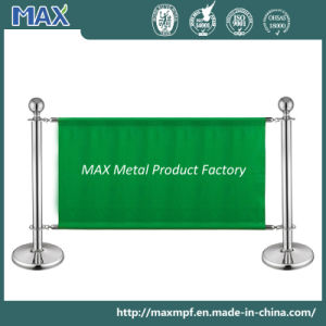 Stainless Steel Exhibition Banner Stanchion pictures & photos