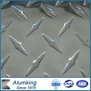 Pre-Cutted Chequer Aluminium Plate for Bus Floor pictures & photos