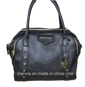 Casual Lady Leather Handbag with Hight Quality (M10560)