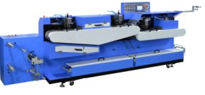 Eco Type Label Ribbons Screen Printing Machine with Dual Faces Printing Ts-150 pictures & photos