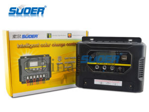 Suoer 60A 12V 24V Solar Power Controller with Ce&RoHS (ST-W1260) pictures & photos