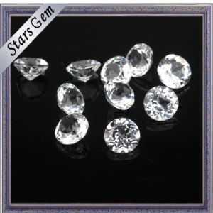 1-3mm Wuzhou Factory Price Natural Cut White Topaz pictures & photos
