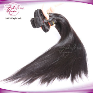 Hair Factory Silky Straight Hair Brazilian Virgin Hair Weave pictures & photos