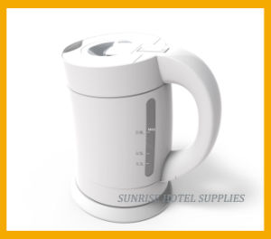 0.8L Mini Plastic Electric Kettle for Hotel pictures & photos