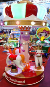 Happy Childhood Whirlgig Merry-Go-Round Indoor Playground Equipment pictures & photos