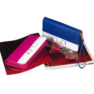 Newest Fashion & Elegant Women Genuine Leather Wallet /Purse (CG7701) pictures & photos
