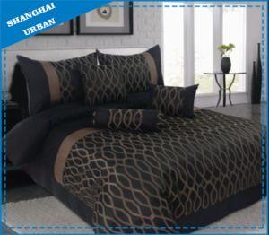 3 PCS Polyester Jacquard Duvet Cover Set pictures & photos