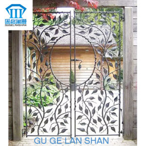 High Quality Crafted Wrought Iron Gate 013 pictures & photos
