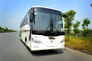 Professional Supply 6*2 6 Wheels Big Luxury Bus of 60-65 Seats pictures & photos