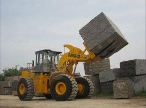 Block Handler Forklift Front Loader 23ton pictures & photos