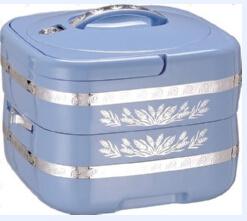 4.8L Plastic Lunch Box pictures & photos