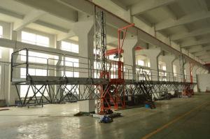 Mast Climbing Aerial Work Platform/Talble/Crane pictures & photos