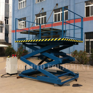Hydraulic Scissor Parking Car Hoist Platform Lift (AAE-MS130.2545) pictures & photos