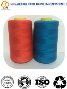 Factory-Suppier Core-Spun 100% Polyester Textile Sewing Thread 40s/2 Fabric Use pictures & photos