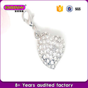 Factory Hot Sale Fancy Custom Crystal Heart Pendant for Necklace pictures & photos