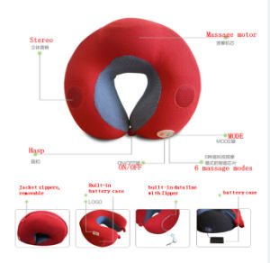 Travel Massage Pillow with Music Function pictures & photos