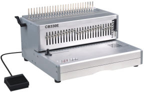 Manual Comb Binding Machine and Electric Punching Machine (CB330E) pictures & photos