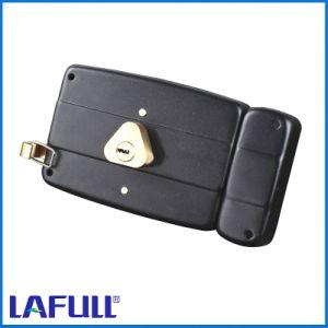 540.14b Iron Lock Case Brass Cylinder Door Rim Lock pictures & photos