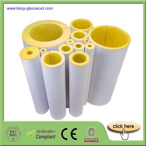 Duct Insulation Fiberglass Wool Pipe pictures & photos
