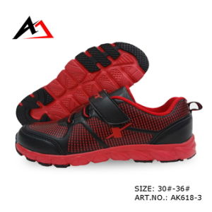Sports Leisure Shoes Walking Running Footwear for Children (AK618-2) pictures & photos