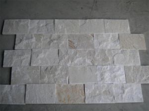 White Quartz Stone Veneer for Wall Cladding pictures & photos