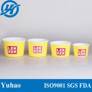 8oz Ice Cream Paper Cup/Disposable Yogurt Paper Cup pictures & photos