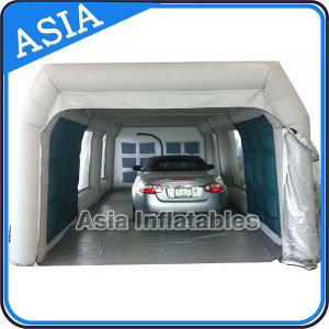 Used Paint Portable Spray Booth, Mobile Automatic Inflatable Spray Booth pictures & photos