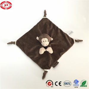 Baby Care Monkey Cute Safe CE Soft Wash Blanket pictures & photos
