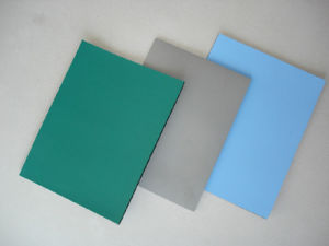 2layer Green Texture Smooth ESD PVC Mat pictures & photos
