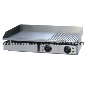 Electric Griddle With1/3 Grooved pictures & photos
