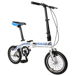 Newest 14′ Aluminum Alloy Folding Bike pictures & photos