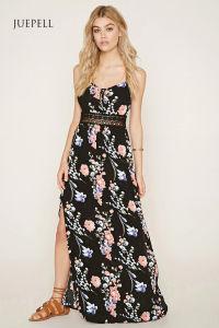 Floral Cami Maxi Dress pictures & photos