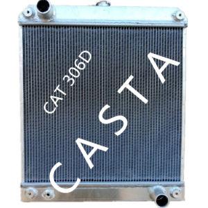 Cat Caterpillar Excavator 306D Aluminum Radiator Assy pictures & photos
