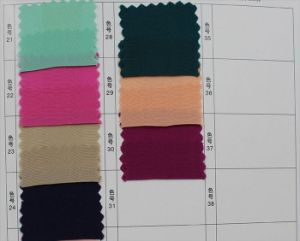 12mm; 35%Silk 65%Viscose Crepe De Chine Fabric pictures & photos