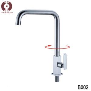Ceramics Single Hole Basin Water Sink Faucet (B002) pictures & photos