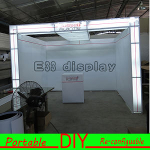 Custom Printed Tension Fabric Display, Portable Trade Show Display pictures & photos
