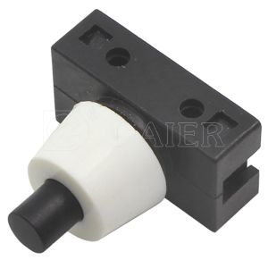 Inline Self-Locking Push Button Switch, Table Lamp Switch (PBS-17A) pictures & photos