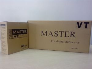 Ricoh/Gestetner Digital Duplicator Master Roll Vt A4/Cpmt8 A4 Master Stencil Roll pictures & photos
