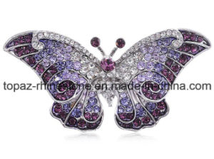 High Quality Crystal Jewelry Rhinestone Brooch for Youth (TM-029) pictures & photos