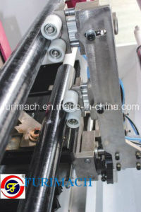 Fd-1300 Four Shafts PVC Tape Cutting Machine/BOPP Tape Roll Cutting Machine for Mass Production pictures & photos