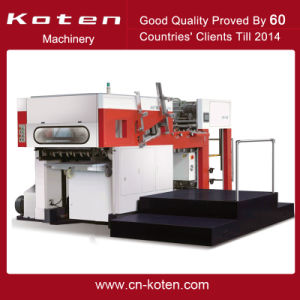 Automatic Die Cutting Creasing Machine pictures & photos