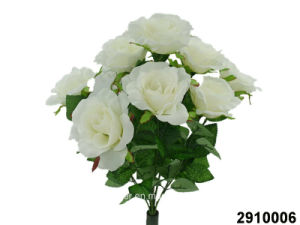 Artificial/Plastic/Silk Flower Rose Bush (2910006) pictures & photos