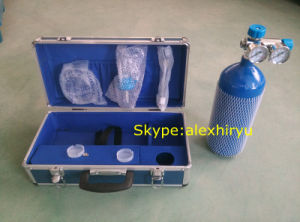 Small Portable Steel Oxygen Cylinder pictures & photos