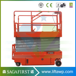 10m Automatic Hydraulic Man Scissor Lift Workshop pictures & photos