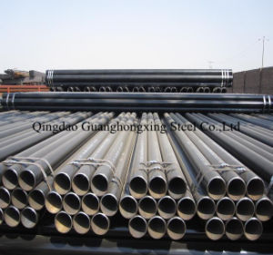 Q195, Ss330, SPHC ERW Welded Galvanized Steel Pipe pictures & photos