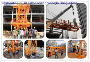 6ton Model 5610 Topless Tower Crane Construction Tower Cranes pictures & photos
